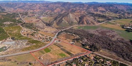 20+ Acre Development Opportunity Next to San Diego Zoo Safari Park